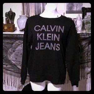women's Calvin Klein crew neck sweatshirt